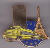 Pin's  TGV SIGNE BALLARD - TGV