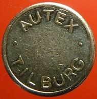 KB022-1 - AUTEX TILBURG DRANKEN AUTOMATEN - Tilburg - WM/B 19.0mm - Koffie Machine Penning - Coffee Machine Token - Firma's