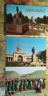 Russian Asia. Ashgabat / Ashkhabad. Big Lot - High Quality - Full 18 Postcards Set - 1980s - Turkménistan