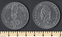 New Hebrides 50 Francs 1972 - Monnaies