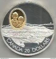 Canada, 20 Dollari Ag. Proof 1991 Aereo Silver Dart, In Confezione Originale Di Zecca, Con Certificato. Mint Box - Canada