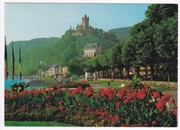 COCHEM An Der Mosel - Parkanlage Am Moselufer Mit Blick Zur Reichsburg - Cochem