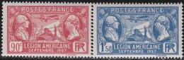 France  .   Yvert    .   244/245    .     **  .    Neuf  SANS  Charniere  .   /   .    MNH - France