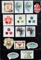 Sierra Leone  **  Lot Auto Collant - Sierra Leone (1961-...)