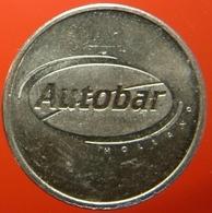 KB022A-1a - AUTOBAR AUTOMATISCH LEKKERE KOFFIE - Dordrecht - WM 22.5mm - Koffie Machine Penning - Coffee Machine Token - Firma's