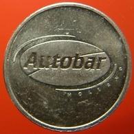 KB022A-1b - AUTOBAR AUTOMATISCH LEKKERE KOFFIE - Dordrecht - WM 22.5mm - Koffie Machine Penning - Coffee Machine Token - Firma's