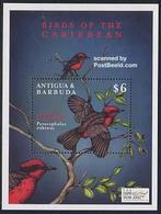 ANTIGUA & BARBUDA, 2000 The Stamp Show 2000, London S/s Birds MNH - Exposiciones Filatélicas