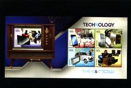 AUSTRALIA - 2012  TECHNOLOGY   MS MINT NH - Blocchi & Foglietti