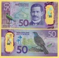 New Zealand 50 Dollars P-194 2016 UNC - Nouvelle-Zélande