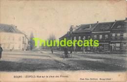 CPA LEOPOLDSBURG BOURG LEOPOLD VUE SUR LA PLACE DES PRINCES ( PLOOI - PLI ) - Leopoldsburg