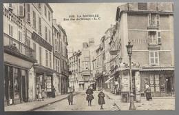 17-LA ROCHELLE-Rue Pas Du Minage...1927  (verso Timbre Décollé) - La Rochelle