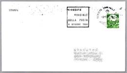 DIA DE LA UNION POSTAL INTERNACIONAL - UPU DAY. Genova, Italia, 1988 - UPU (Unión Postal Universal)