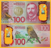 New Zealand 100 Dollars P-194 2016 UNC - New Zealand