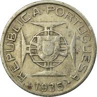Monnaie, Mozambique, 5 Escudos, 1935, TB+, Argent, KM:62 - Mozambique