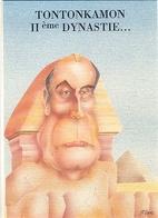 CPM - MITTERRAND - ILLUSTRATION J.F.RAMIREZ - Edition E.S.P. - Personnages