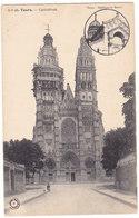 Tours - Echafaudage Sur Tour De La Cathédrale En Travaux # 3-19/7 - Tours