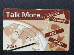 CARTE PREPAYEE  TALK MORE  *7,5€   1627 - Autres Prépayées