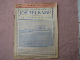 "4 Catalogues Oignons à Fleurs 1910  1909  1920  "" VELSEN - JOS TELKAMP - ROOZEN ""  B.E. Voir Photos - 3. Bulbs"