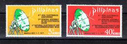 Filippine  Philippines  - 1972. Congresso Sulla Elettronica. Il Radar. Electronic Congress. The Radar. Complete MNH Set - Telecom