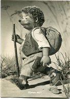 """KOMM MIT!"" MECKI FROM THE FILM ""HOR ZU!"" DIEHL POSTAL CIRCULATED 1958  HEDGEHOG PUPPET - LILHU - Mecki"