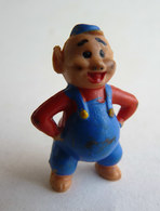 FIGURINE LES TROIS PETITS COCHONS Walt Disney HEIMO 1960's - NAF NAF - Disney