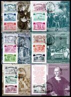Portugal Europa 1992. 6 Feuillets 85/90 Oblitérés 1er Jour. 500e Ann. De La Découverte De L'Amérique Par C.Colomb. - Europa-CEPT