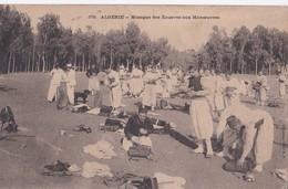 Carte 1905 ALGERIE / MUSIQUE DES ZOUAVES AUX MANOEUVRES - Algérie