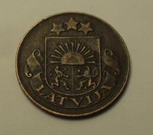 1928 - Lettonie - Latvia - 2 SANTIMI - KM 2 - Lettonie