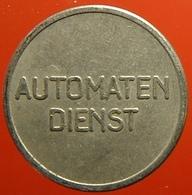 KB023-1 - AUTOMATEN DIENST - Groningen - WM 20.0mm - Koffie Machine Penning - Coffee Machine Token - Firma's