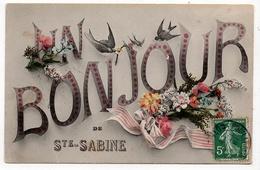 Sainte Sabine : Un Bonjour (Editeur Non Mentionné) - France