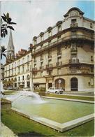 CPSM - NANTES - LES JARDINS DE LA RUE COUEDIC ET LE CENTRAL HOTEL - Nantes