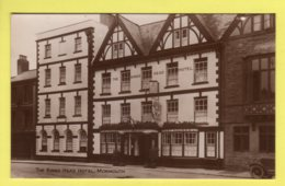 Monmouthshire - Monmouth, The Kings Head Hotel - Trust Houses Ltd. Real Photo Postcard - Monmouthshire