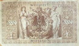 BILLET De BANQUE-ALLEMAGNE-1000 MARK-1902 - [ 2] 1871-1918 : Imperio Alemán