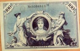 BILLET De BANQUE-ALLEMAGNE-100 MARK-1908 - [ 4] 1933-1945: Derde Rijk