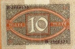 BILLET De BANQUE-ALLEMAGNE-10 MARK-1952 - [ 4] 1933-1945 : Troisième Reich