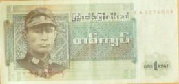 BILLET De BANQUE-BIRMANIE-1 KIAT-1967 - Banknotes