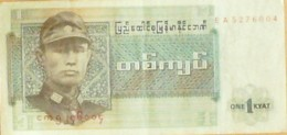 BILLET De BANQUE-BIRMANIE-1 KIAT-1967 - Billets
