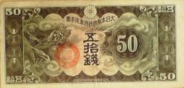 BILLET De BANQUE-JAPON-50 YEN-1935 - Japan