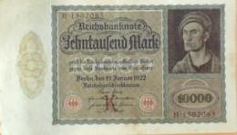 BILLET De BANQUE-ALLEMAGNE-10000 MARK-1905 - [ 2] 1871-1918 : Empire Allemand