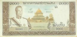 BILLET De BANQUE-LAOS-1000 KIP-1963 - Laos