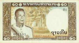 BILLET De BANQUE-LAOS-20 KIP-1964 - Laos
