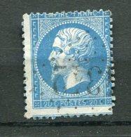 11685  FRANCE  N° 22 ° 20c Bleu   Napoléon III ( Piquage à Cheval )  1862   B/TB - 1862 Napoleon III