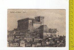 1919 SORIANO NEL CIMINO Rocca FP V SEE 2 SCANS Timbro A Cannocchiale Soriano - Italia