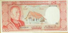 BILLET De BANQUE-LAOS-500 KIP-1961 - Laos