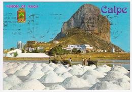 CALPE - Le Rocher De L'Ifach Depuis Les Salins / El Penon De Ifach Desde Las Salinas - Autres