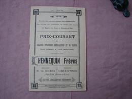 Catalogue HENNEQUIN  FRERES  30 Rue St Aubier  ANGERS   47 Pages Graines Potagéres, Fourragéres Et Fleurs. TBE - 2. Seeds