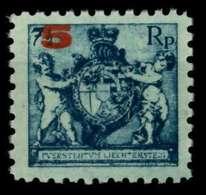 LIECHTENSTEIN 1924 Nr 61A Postfrisch X6F6F62 - Liechtenstein