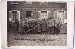 CPA Carte Photo Guerre 14-18 Militaire Allemand Prisonnier Anglais German British WW1 - Guerre 1914-18