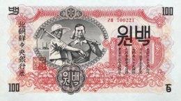 North Korea 100 Won, P-11b (1947) - UNC - Corée Du Nord
