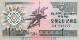 North Korea 1 Won, P-27 (1988) - UNC - Corée Du Nord